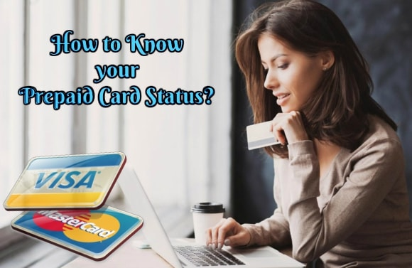 How to know Prepaid Credit Card Status